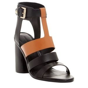 Sigerson Morrison Coria Leather Heeled Sandals 7
